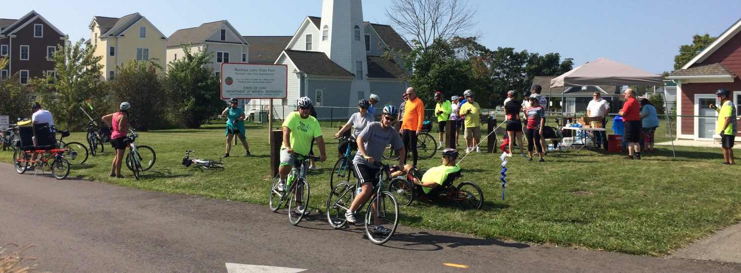 Safe family bicycling to & around greater Buckeye Lake region